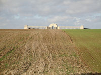 Pozières Memorial, the Somme