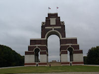 Thiepval Memorial, the Somme